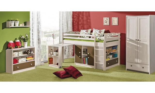 Dětská postel Kama, masiv