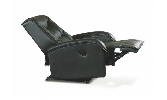 Relaxační křeslo Jeffrey Sofa, černá