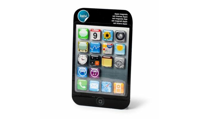Sada magnetů BALVI Apps, 18ks