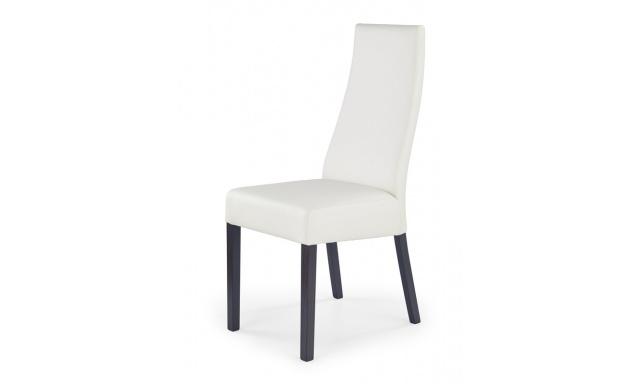 Jídelní židle Corda, wengw/bílá