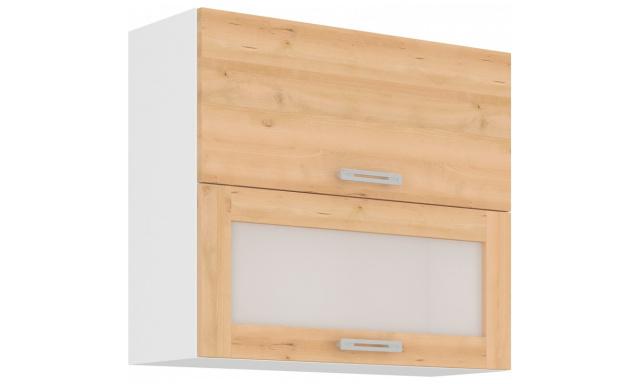 ICON horní skřínka 80cm - vitrína
