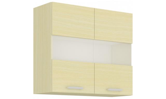 MONIX horní skřínka 80cm - vitrína