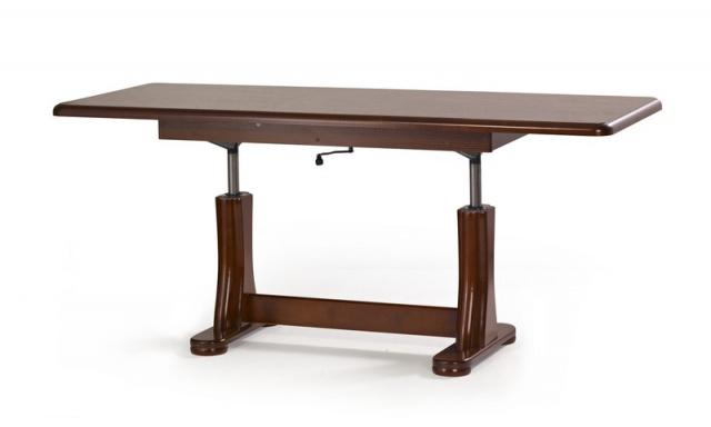 Zvedací konferenční stůl Tempo, kaštan
