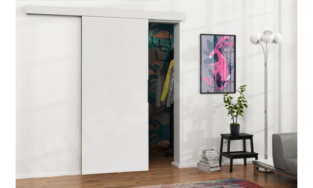 Zasouvací dveře Marbel 90cm, bílé
