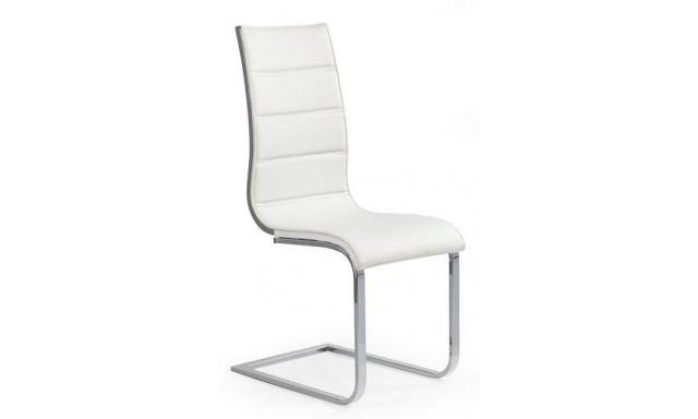 Design jídelní židle H502, bílá