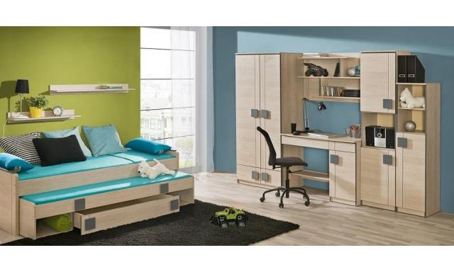 Dětský pokoj s postelí Fumi H