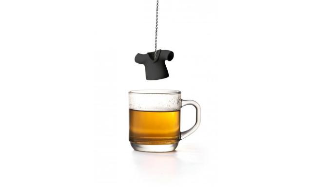 Čajové sítko QUALY Tea Shirt, černé