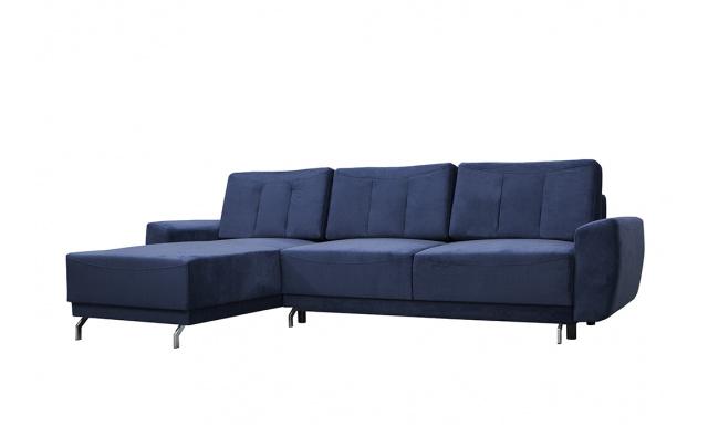 Designová sedací souprava Marcello, modrá