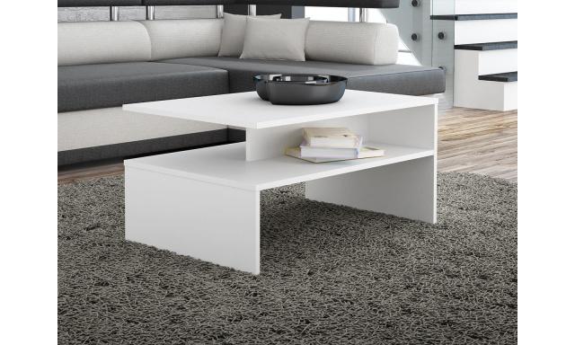 Konferenční stůl Brela, bílý