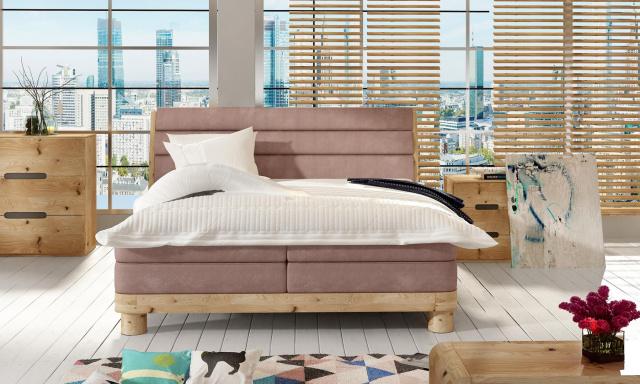 Luxusní box spring postel Aspona 180x200