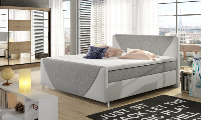 Luxusní box spring postel Vera 160x200