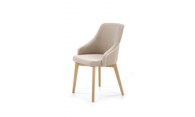 Jídelní židle Tolek, dub medový/Solo 252