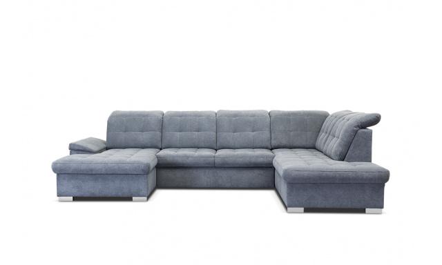 Kvalitní sedací souprava tvaru U Nicolette