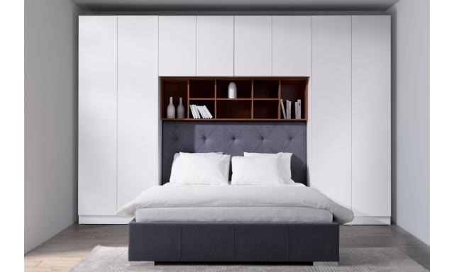 Luxusní ložnicová sestava Varese s posteli 180x200cm