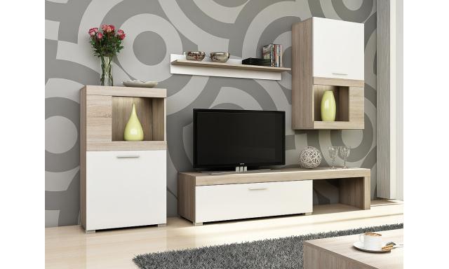 Levná moderní obývací stěna Kolk