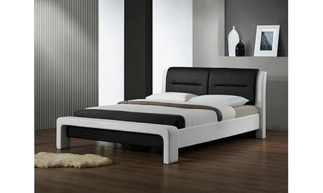 Moderní manželská postel H3 - 160x200cm