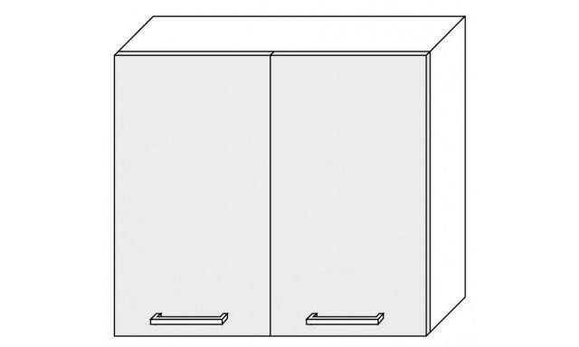 PLATINUM horní skřínka 80cm W3/80