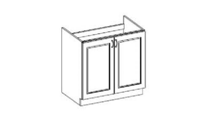 Carpos dolní skřínka 80cm - dřezová