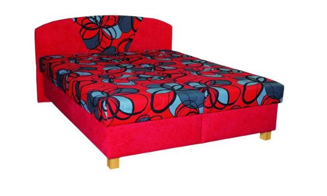 Levná čalouněná postel Klára 160x200cm