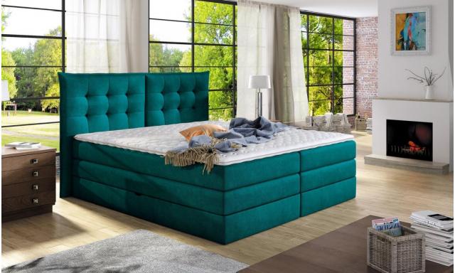 Luxusní box spring postel Field 180x200