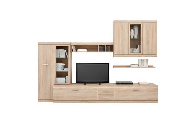 Moderní obývací stěna Istria, sonoma