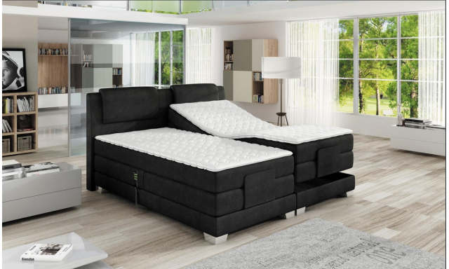 Luxusní box spring postel Vero 180x200