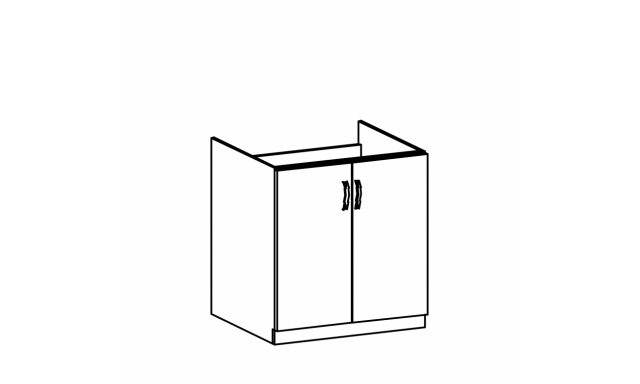 REVAL dolní skřínka 80cm - dřezová