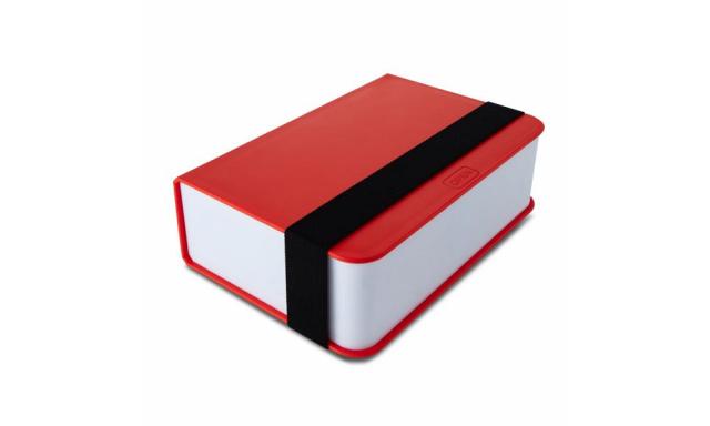 Desiatový box BLACK-BLUM Lunch Box Book, červený