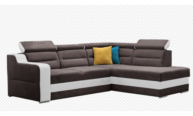 Pohodlná sedačka Bergen, hnědá
