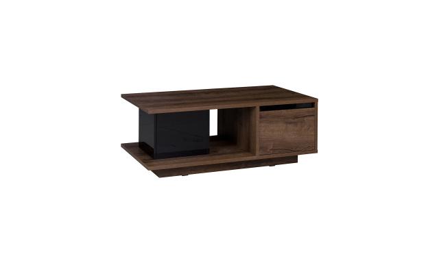 Konferenční stůl Drake, dub monastery/černý lesk