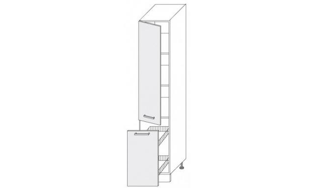 PLATINUM dolní skřínka 40cm 2D14k/40