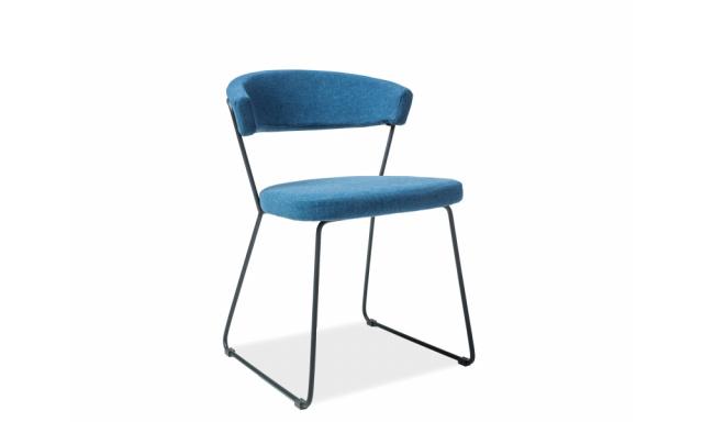 Jídelní židle Dakola, modrá