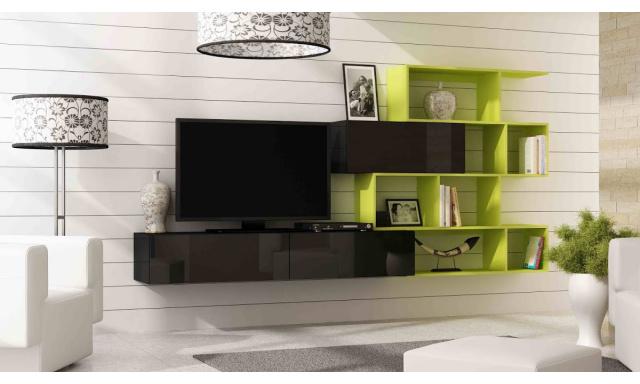 Designová obývací stěna Igore new A