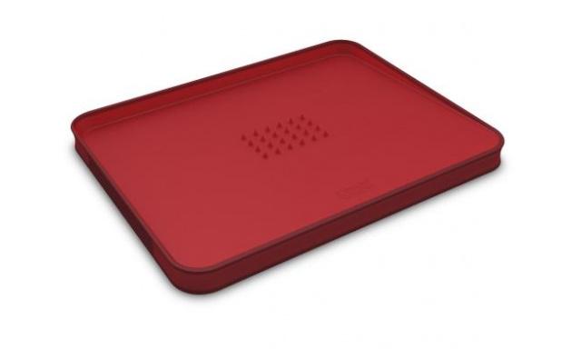 Multifunkční krájecí prkénko JOSEPH JOSEPH Cut&Carve™ Plus, malé/červené