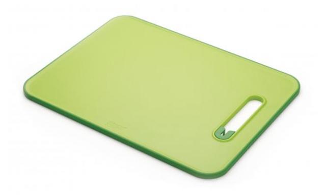 Prkénko s brouskem JOSEPH JOSEPH Slice&Sharpen™, velké/zelené