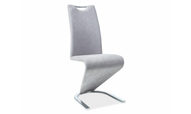 Jídelní židle Pavaroti , šedá