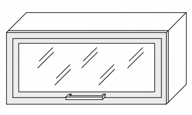 PLATINUM horní skřínka 80cm W4bs/80 ALU