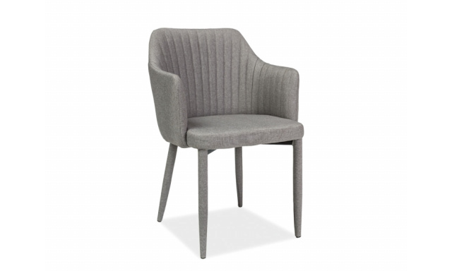 Jídelní židle Aro, šedá