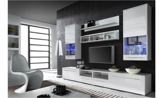Obývací stěna Una 3 white