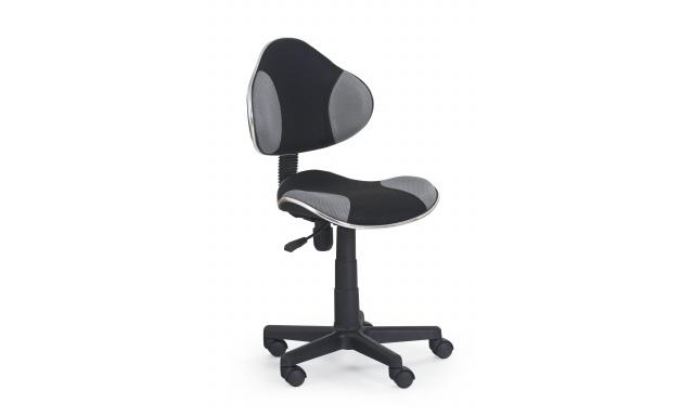 Barva židle FLASH: černá / šedá