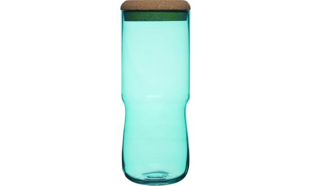 Váza/dóza SAGAFORM SEA Aqua, vysoká, zelená