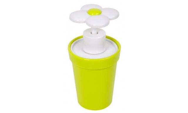 Dávkovač mýdla BALVI Flower Power, zelený