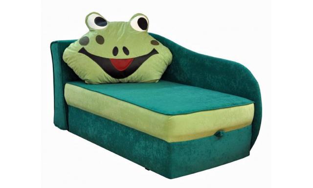 Dětská pohovka Lolek žabák