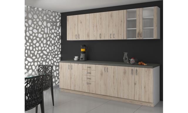 Levná kuchyně sonoma Sava 3