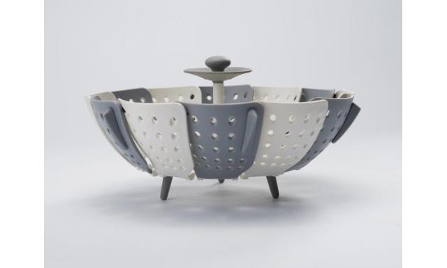 Napařovač JOSEPH JOSEPH Lotus™ Plus, bílý/šedý