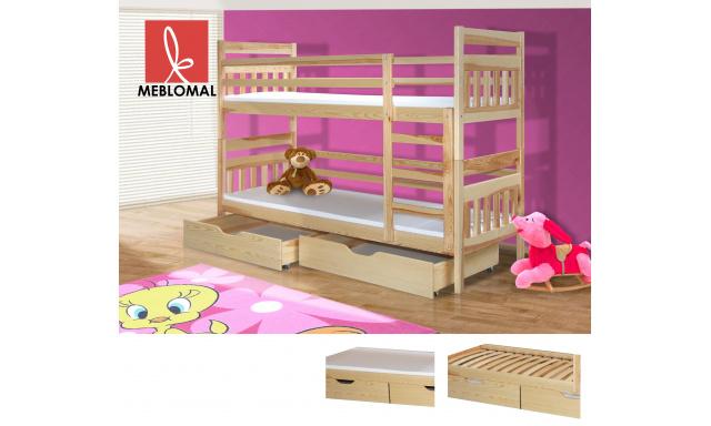 Dětská postel Bruno, masiv + matrace ZDARMA!