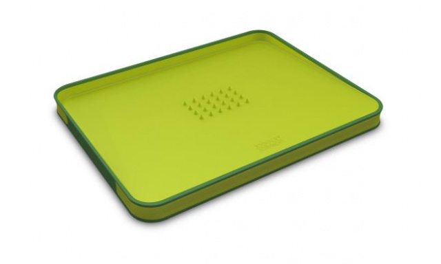Multifunkční krájecí prkénko JOSEPH JOSEPH Cut&Carve™ Plus, velké/zelené