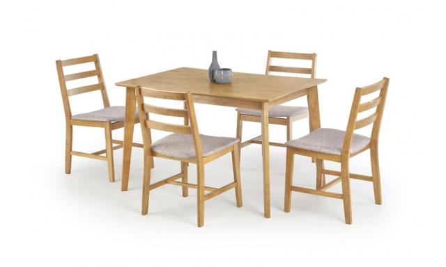Levný jídelní set H8004 (stůl + 4x židle)
