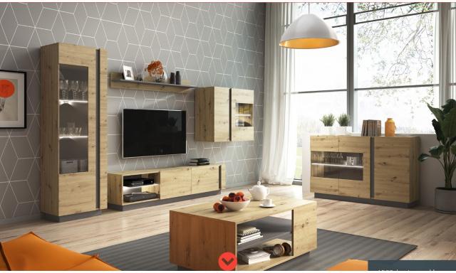 Moderní bytový nábytek Airoo sestava B