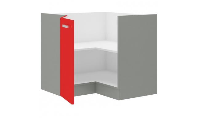 Rosso dolní skřínka 90cm - rohová